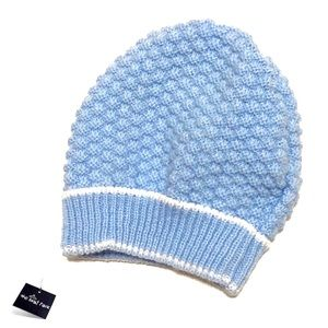 NWOT Blue Cute Little Hat for Baby 0-3mo